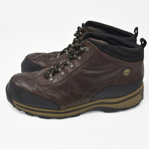 Timberland Sz 7 Brown Leather Hiking Trail Boots